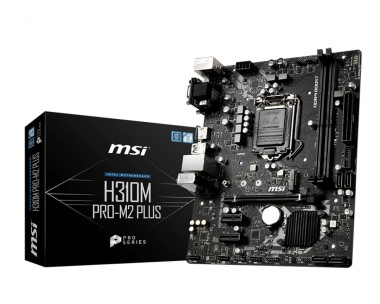 MSI H310M PRO-M2 Plus, Sockel 1151, mATX, H310