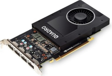 PNY Quadro P2000, 5GB GDDR5, 4x Display-Port