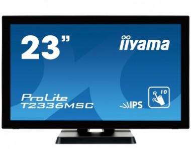 23 Zoll Iiyama ProLite T2336MSC-B2 (58.4cm) 1920x1080 (FullHD), 60Hz, 5ms