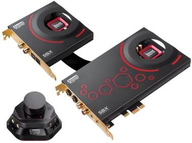 Creative Sound Blaster ZxR Soundkarte, PCIe mit Erweiterungsmodul