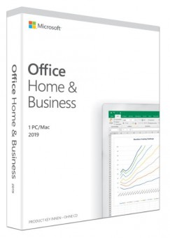 Microsoft Office 2019 Home & Business, PKC (nur Lizenz)