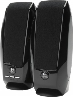Logitech S150 USB - Stereo-Lautsprecher, schwarz