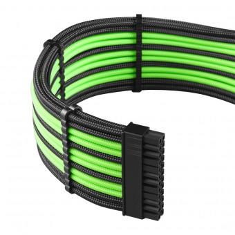 Cablemod PRO ModMesh Cable-Kit sleeved, schwarz/hellgrün