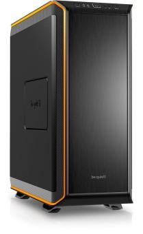 ATX-Big bequiet! Dark Base 900 orange, ohne Seitenfenster