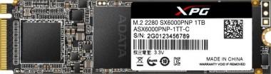 ADATA SX6000 Pro - M.2 1TB, NVMe M.2 PCIe x4 SSD