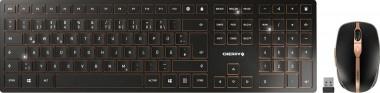 Cherry DW 9000 Slim - Maus + Tastatur, kabellos, schwarz