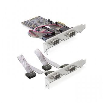 Seriell 4-fach Erweiterung, PCIe Steckkarte