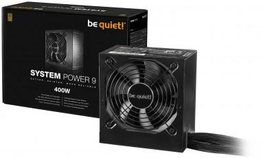 be quiet! System Power 9 400W, 80+ Bronze