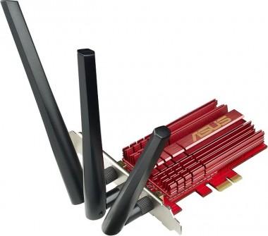 ASUS Wireless LAN Karte AC68, 1300 Mbit (802.11ac)