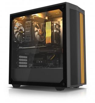 ATX-Midi be quiet! Pure Base 500DX schwarz, (schallgedämmt)