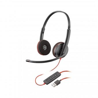 Poly Plantronics Blackwire C3220, On-Ear Headset, USB-A