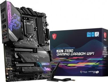 MSI MPG Z590 Gaming Carbon WIFI, Sockel 1200, ATX, Z590