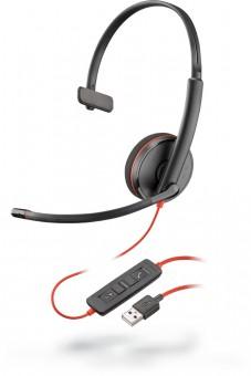Poly Plantronics Blackwire C3210, On-Ear Mono-Headset, USB-A