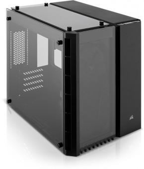 MATX Corsair Crystal 280X Cube, schwarz