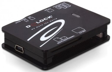 DeLOCK USB 2.0 CardReader All in 1 - Kartenleser, extern