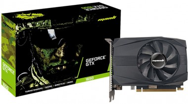 Manli GeForce GTX 1650, 4GB GDDR6, DVI, HDMI, DP