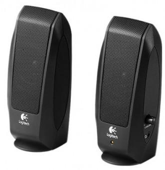 Logitech S120 Stereo-Lautsprecher schwarz