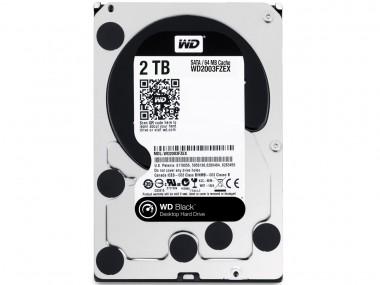 WD Black - 2 TB, WD2003FZEX, 7200 U/min, SATA-600