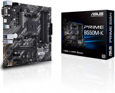 ASUS PRIME B550M-K, AMD B550, AM4, mATX
