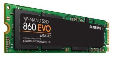 Samsung 860 EVO 250 GB M.2 (MZ-N6E250BW), SATA SSD