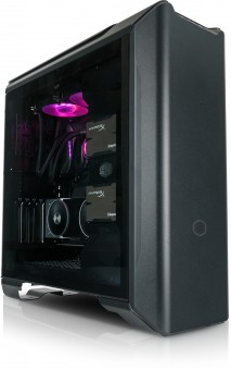 ATX-Midi Cooler MasterCase SL600M Black Edition, Aluminium