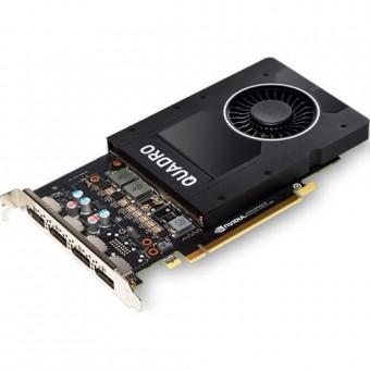 PNY Quadro P2200, 5GB GDDR5X, 4x Display-Port