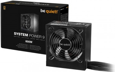 be quiet! System Power 9 600W, 80+ Bronze