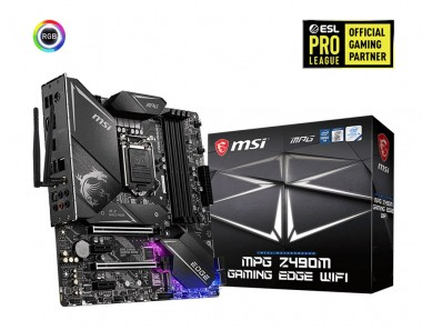 MSI MPG Z490M Gaming Edge WIFI, Sockel 1200, mATX, Z490