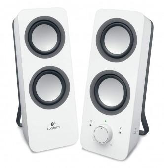 Logitech Z 200, Multimedia-Lautsprecher für PC, weiß