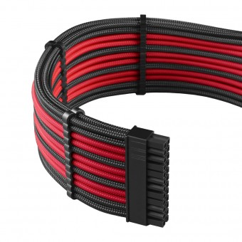 Cablemod PRO ModMesh Cable-Kit sleeved, schwarz/rot