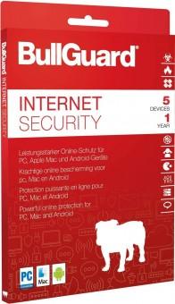 Bullguard Internet Security, 5 Geräte, 1 Jahr