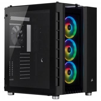 ATX Corsair Crystal 680x RGB Cube, schwarz