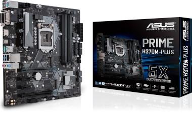 ASUS Prime H370M-PLUS, Sockel 1151, mATX, H370