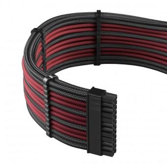 Cablemod PRO ModMesh Cable-Kit sleeved, schwarz/blutrot