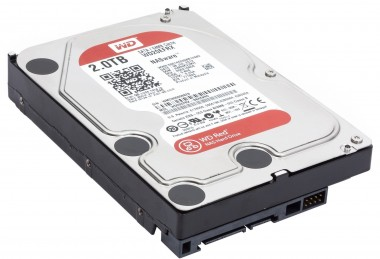 WD Red - 2 TB, WD20EFRX, 64MB Cache, SATA-600