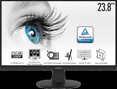 23.8 Zoll MSI Pro MP242V (60cm) 1920x1080, 75 Hz, 5ms, HDMI