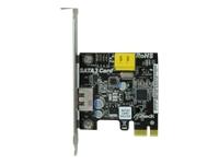 ASRock SATA3 Card - Massenspeicher Controller - SATA-600 / eSATA-600 - PCI