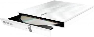 ASUS 08D2S-U LITE externer DVD-Brenner, USB 2.0, weiß