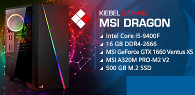 Gamer-PC MSI Dragon (Intel)