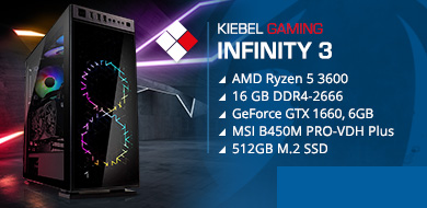 Kiebel Gamer-PC Infinity 3 (AMD)