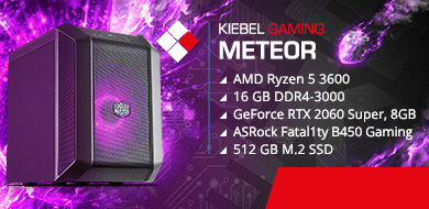 Kiebel Mini Gamer PC Meteor R3