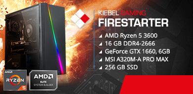 Kiebel Gamer-PC Firestarter (AMD)