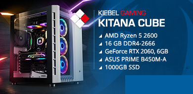 Kiebel Gamer-PC Kitana Cube
