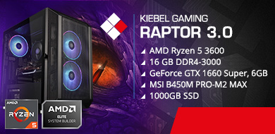 Kiebel Gamer-PC Raptor 3.0 (AMD)