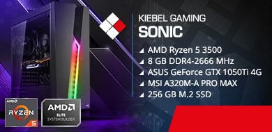Kiebel Gamer-PC Sonic