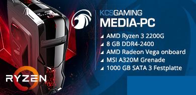 Media-PC premium raven ridge