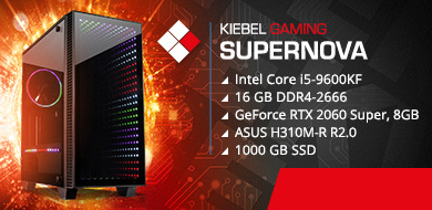 Kiebel Gamer PC Supernova 9.0
