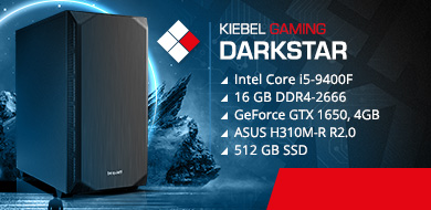 Kiebel Gamer PC DarkStar 9.0