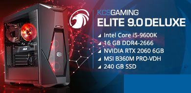 Gamer-PC Elite 9.0 deluxe
