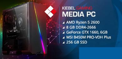 Media-PC premium ryzen 2 deluxe